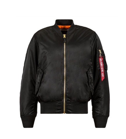 Alpha Industries MA-1 BLOOD CHIT BLACK