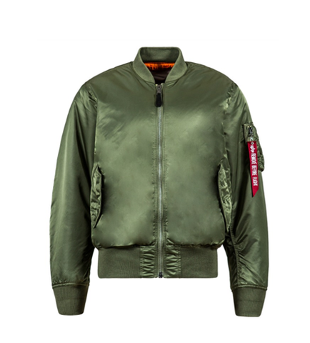 Alpha Industries MA-1 BLOOD CHIT SAGE GREEN
