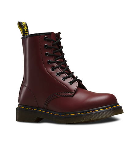 DR.MARTENS 1460 SMOOTH CHEERY RED
