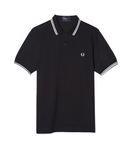 Fred Perry M3600 TWIN TIPPED Polo Navy/White