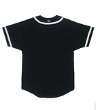 Champion Braided Baseball Jersey Black