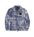 Champion Life Men's Coaches Jacket Big C Logo Blue