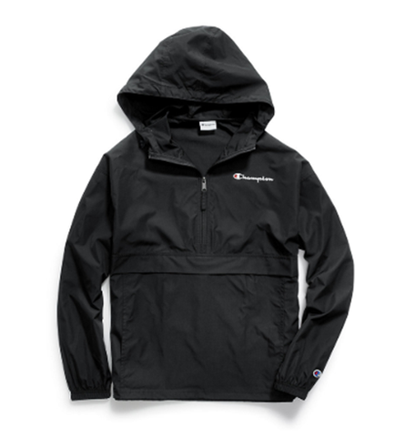 Champion Packable Jacket Black