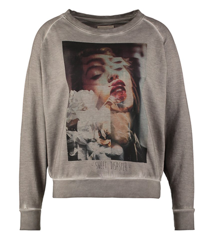 Eleven Paris SUNDISA - Sweatshirt - deep dye wind