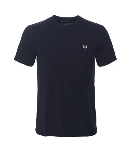 Fred Perry T-Shirt Ringer Tee Navy