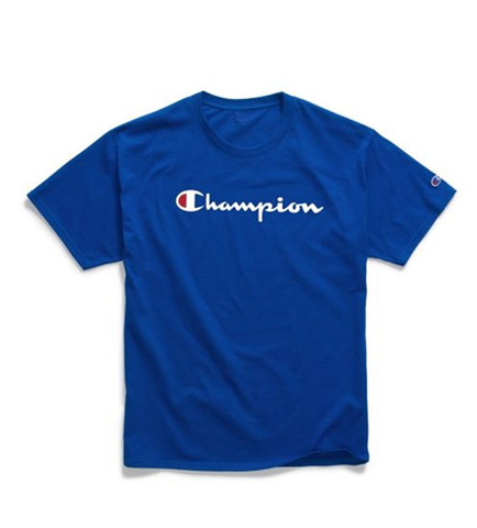 Champion Jersey Tee Script Logo Surf The Web