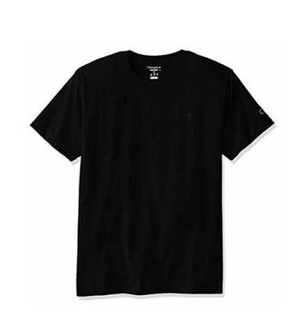 Champion Men's Classic Jersey Tee T-Shirt Black