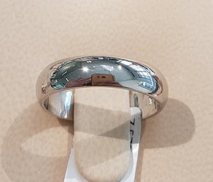 Platinum Gents Band | Size O | Weighing 7.578grams
