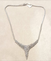 5.550ct [201] Round Brilliant Cut Diamonds | Designer Necklace | 18kt White Gold