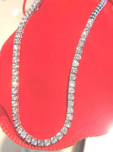 Load image into Gallery viewer, 6.50ct [61] Round Brilliant Cut Diamonds | Tennis Necklace | 18kt White Gold