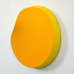 Melted Yellow Circle 2020