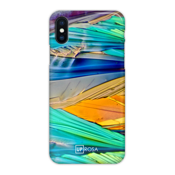 Acid Rainbow - iPhone X Slim Line Case