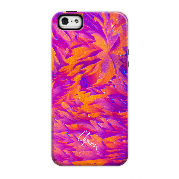 Aspirin Flowers - iPhone 5/5s/se Tough Line Case