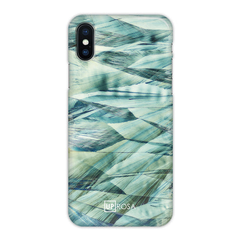 Caffeine Waves - iPhone X Slim Line Case