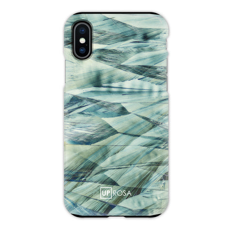Caffeine Waves - iPhone X Tough Line Case