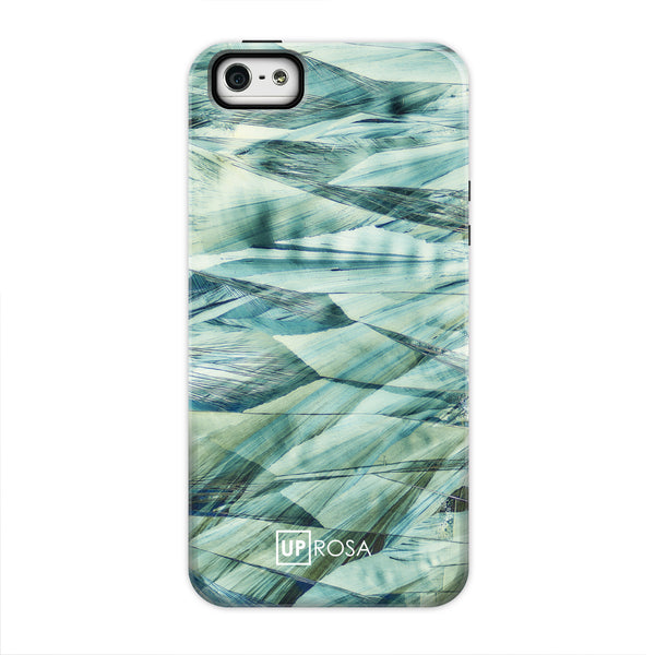 Caffeine Waves - iPhone 5/5s/se Tough Line Case
