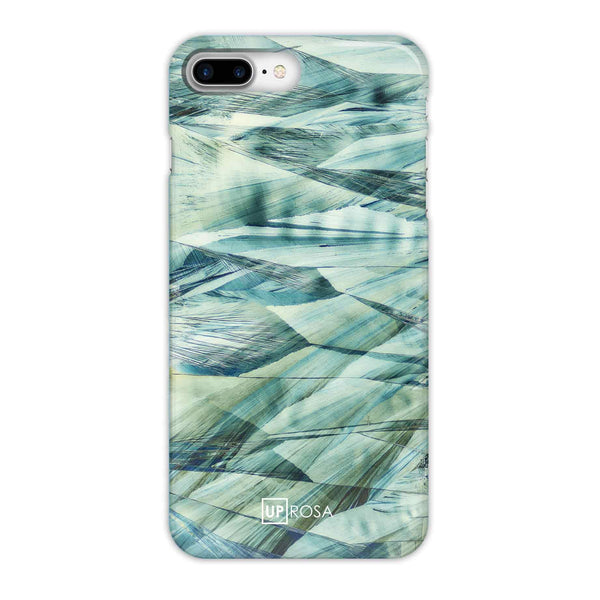 Caffeine Waves - iPhone 8 Plus Slim Line Case