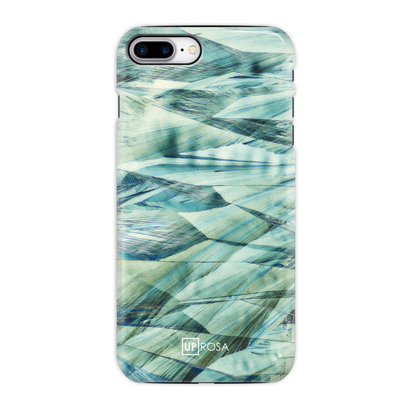 Caffeine Waves - iPhone 8 Plus Tough Line Case