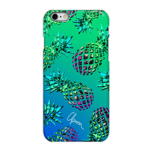 Caribbean Crystals - iPhone 6/6s Slim Line Phone Case