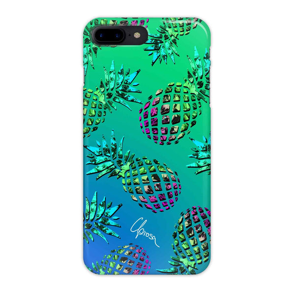 Caribbean Crystals - iPhone 7 Plus Slim Line Case