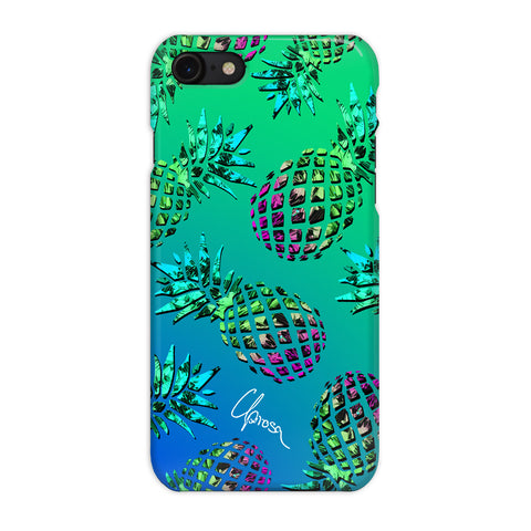 Caribbean Crystals - iPhone 7 Slim Line Case