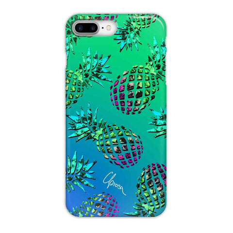 Caribbean Crystals - iPhone 8 Plus Slim Line Case