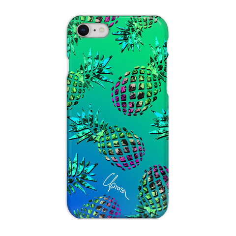 Caribbean Crystals - iPhone 8 Slim Line Case