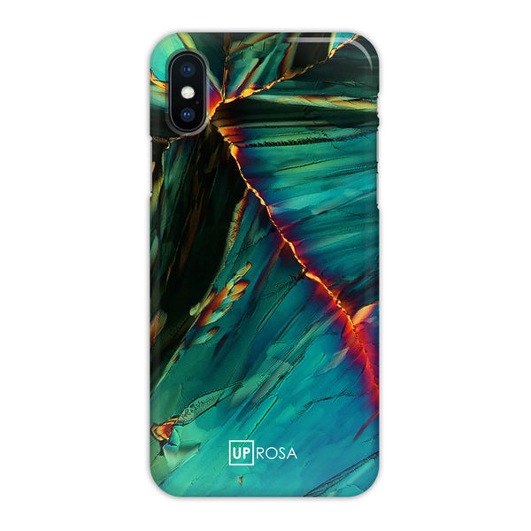 Citrus Ocean - iPhone X Slim Line Case