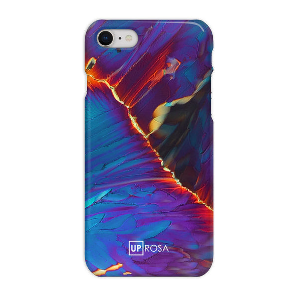 Cobalt Fault - iPhone 8 Slim Line Phone Case