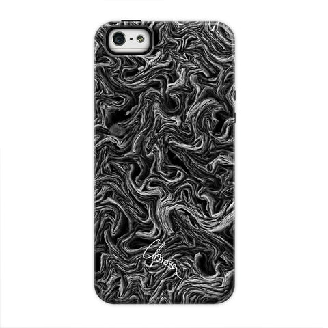 Crystalline Carbon - iPhone 5/5s/se Tough Line Case