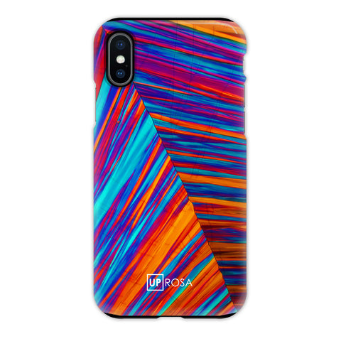 Dopamine Crack - iPhone X Tough Line Case