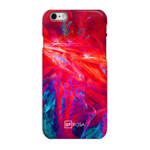 Fractal Flame - iPhone 6/6s Slim Line Case