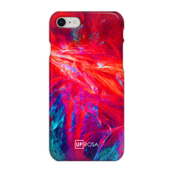 Fractal Flame - iPhone 8 Slim Line Phone Case