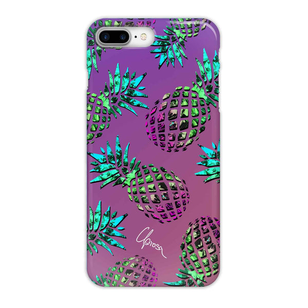 Hawaiian Crystals - iPhone 8 Plus Slim Line Case
