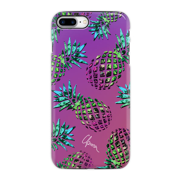Hawaiian Crystals - iPhone 8 Plus Tough Line Case