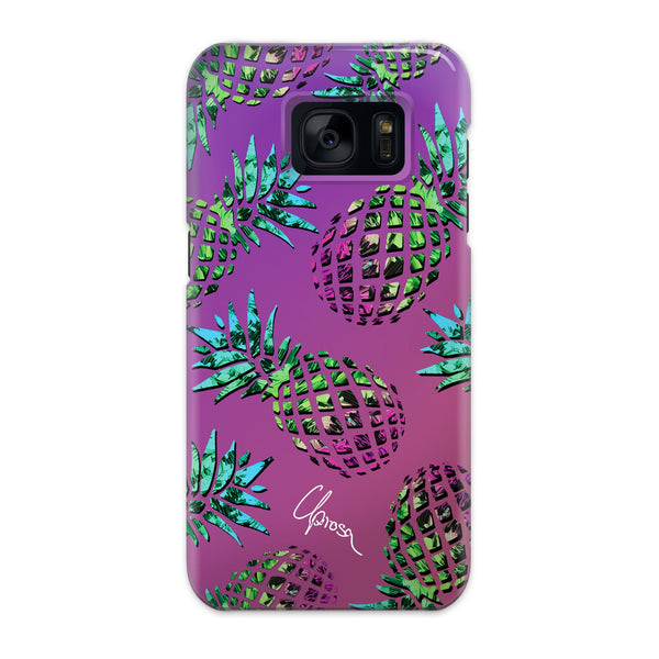 Hawaiian Crystals - Samsung Galaxy Slim Line Case