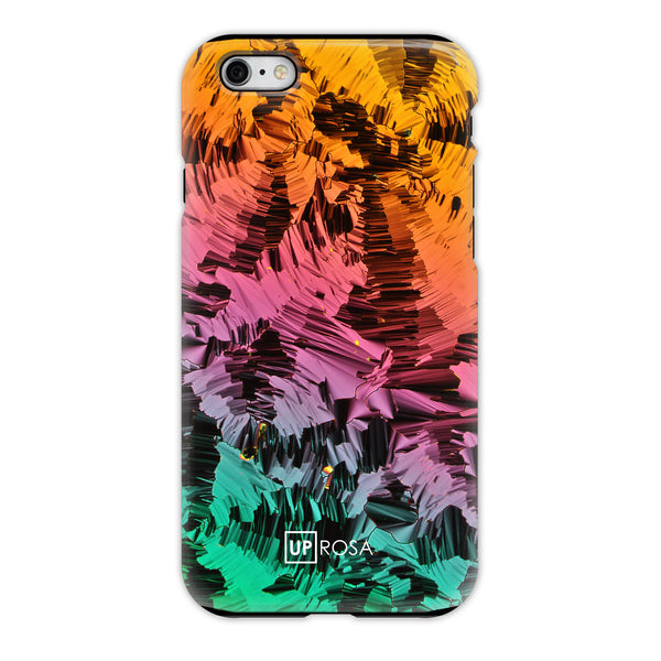 Liquid Crystals - iPhone 6 Tough Line Case