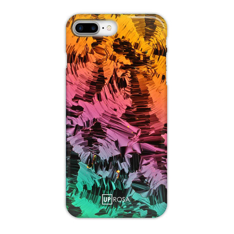 Liquid Crystals - iPhone 8 Plus Slim Line Case
