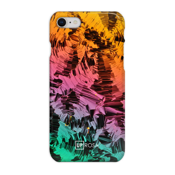Liquid Crystals - iPhone 8 Slim Line Phone Case