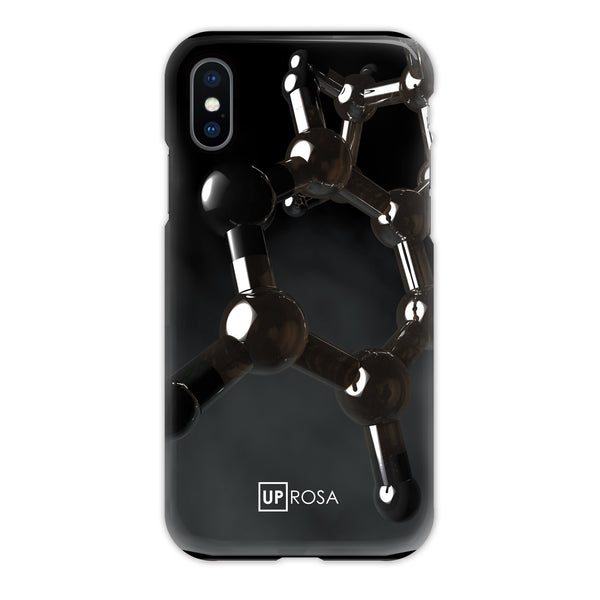 Nicotine - iPhone X Tough Line Case