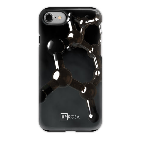 Nicotine - iPhone 8 Tough Line Case