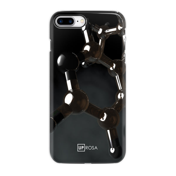 Nicotine - iPhone 8 Plus Tough Line Case