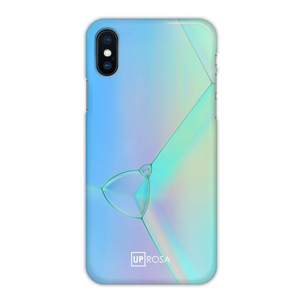 Purple Ways - iPhone X Slim Line Case