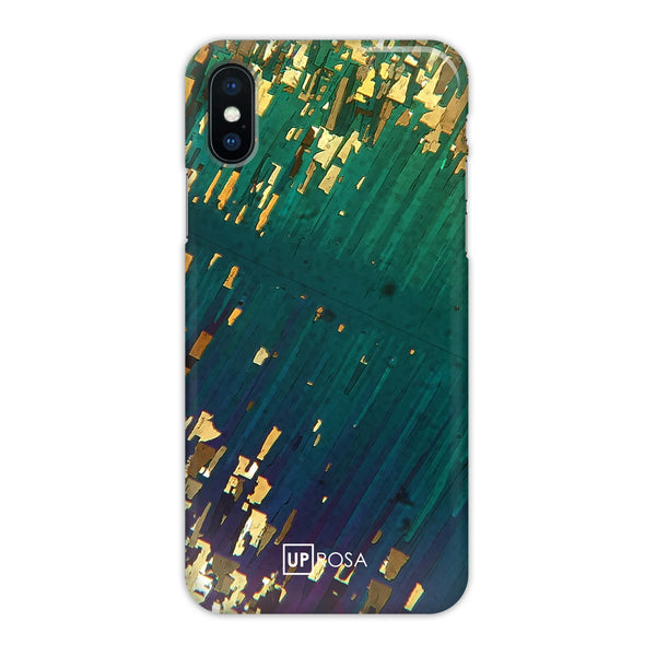 Shattered River - iPhone X Slim Line Case