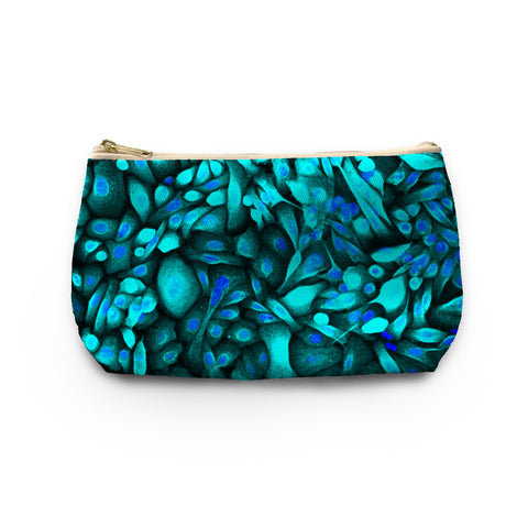 Skinny Peacock Make-up Bag