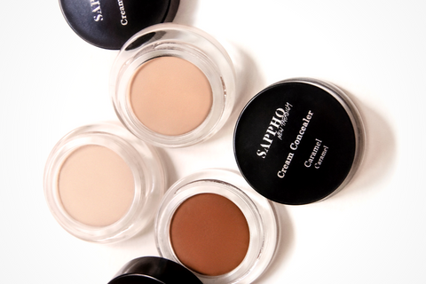 Vegan Concealers for Oily Skin, Open and Scattered, link to shop