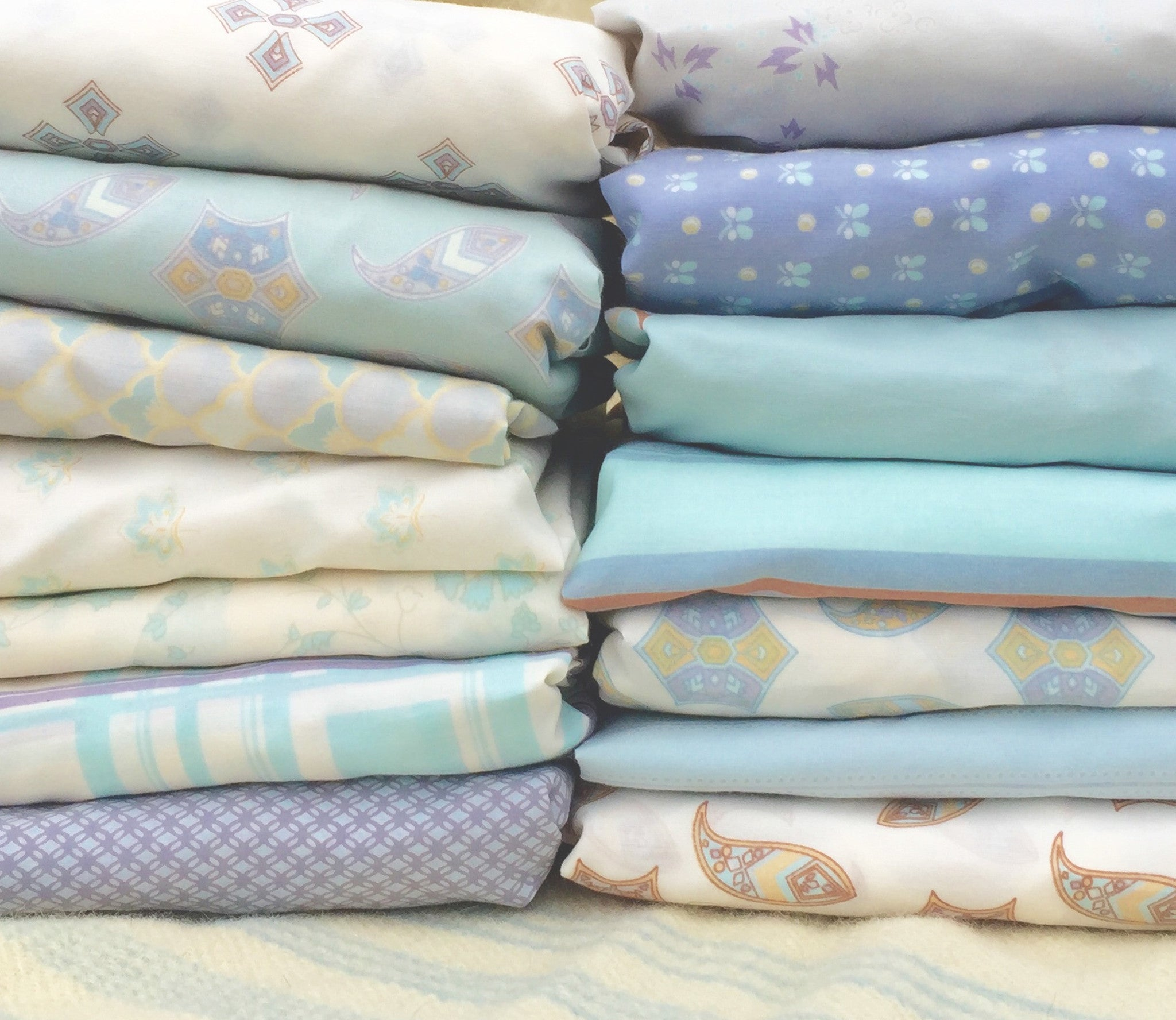 Printed crib sheets
