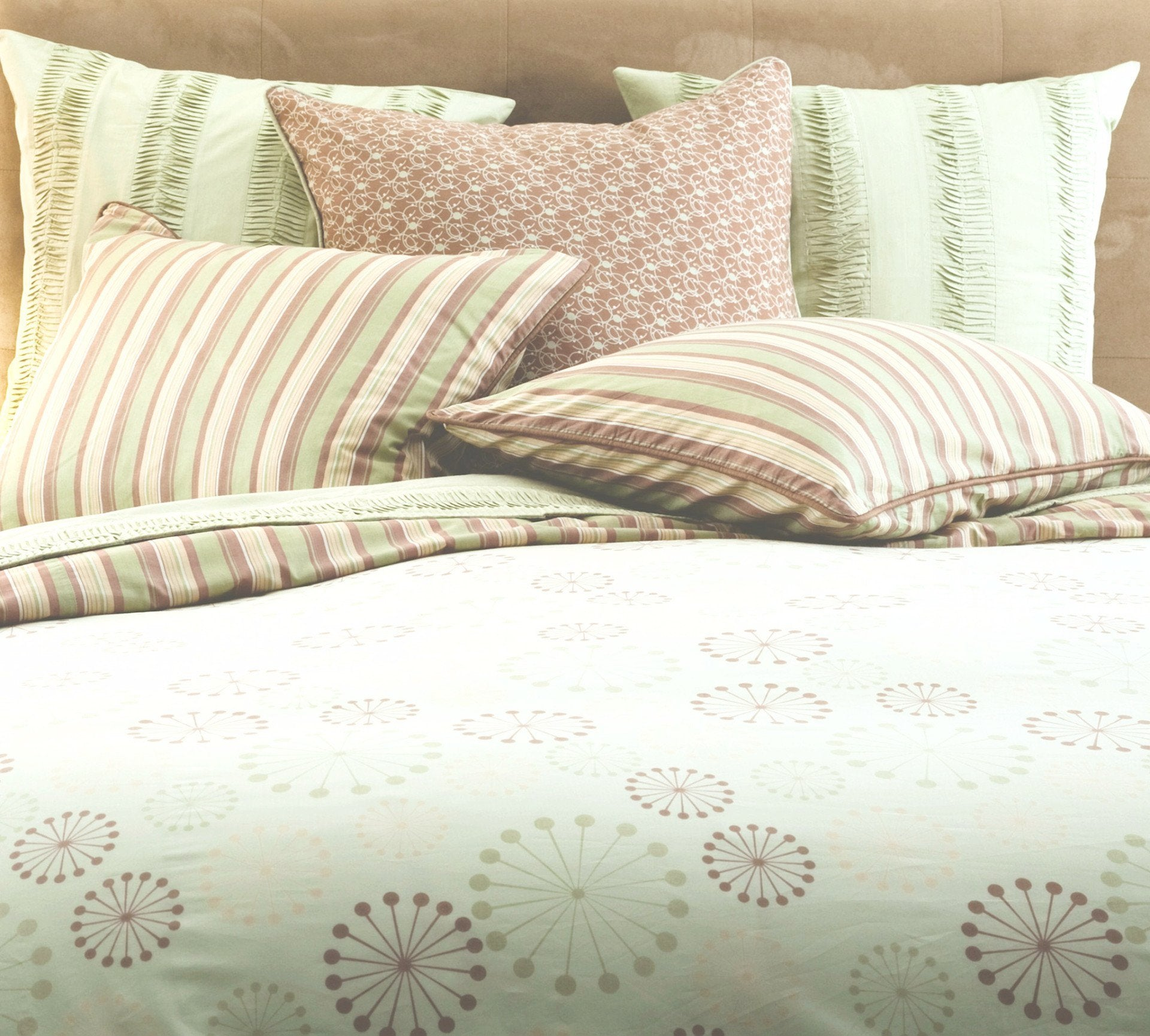 Adult Bedding Set   Celery Marcel Bedding
