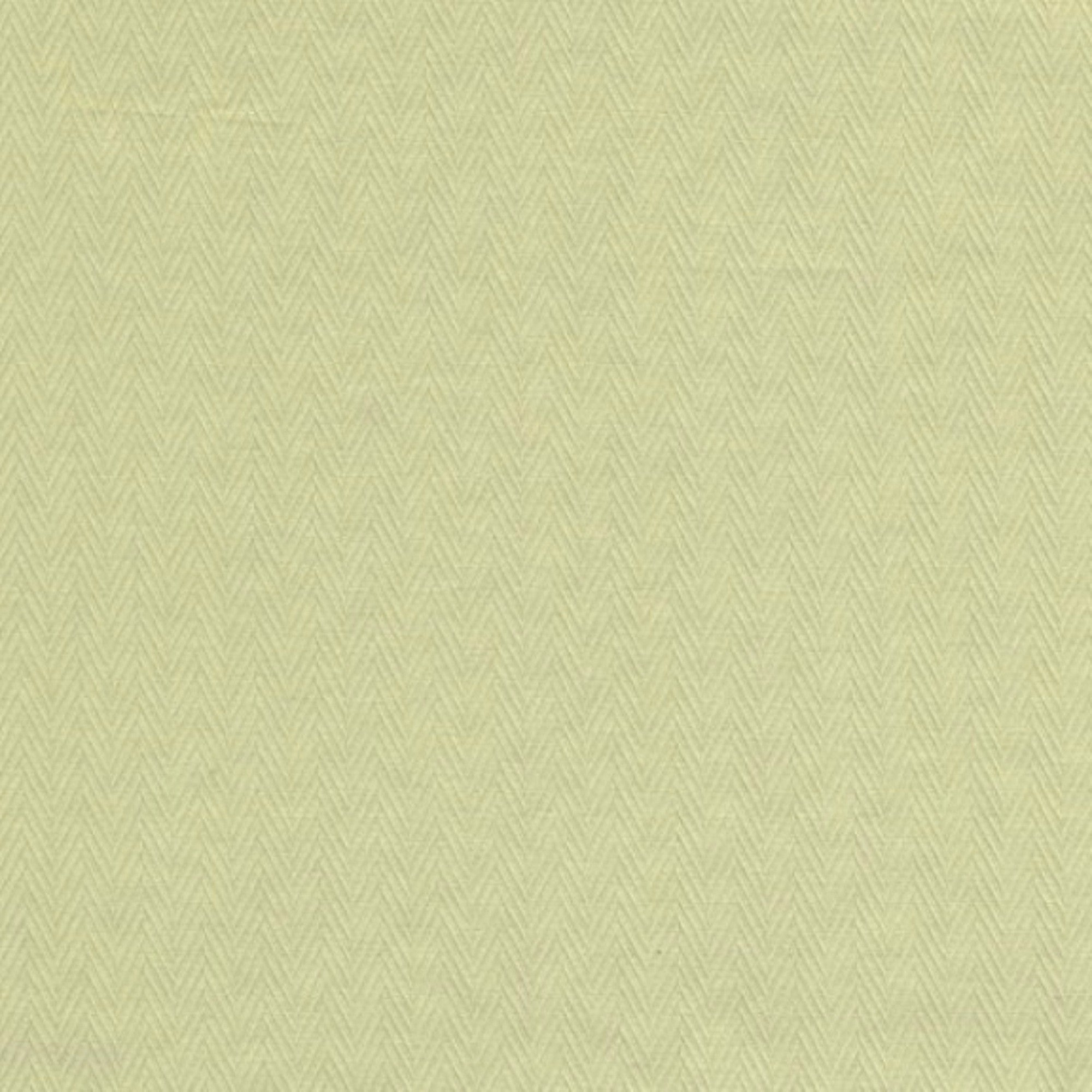 Solid Cotton - Celery Herringbone Fabric