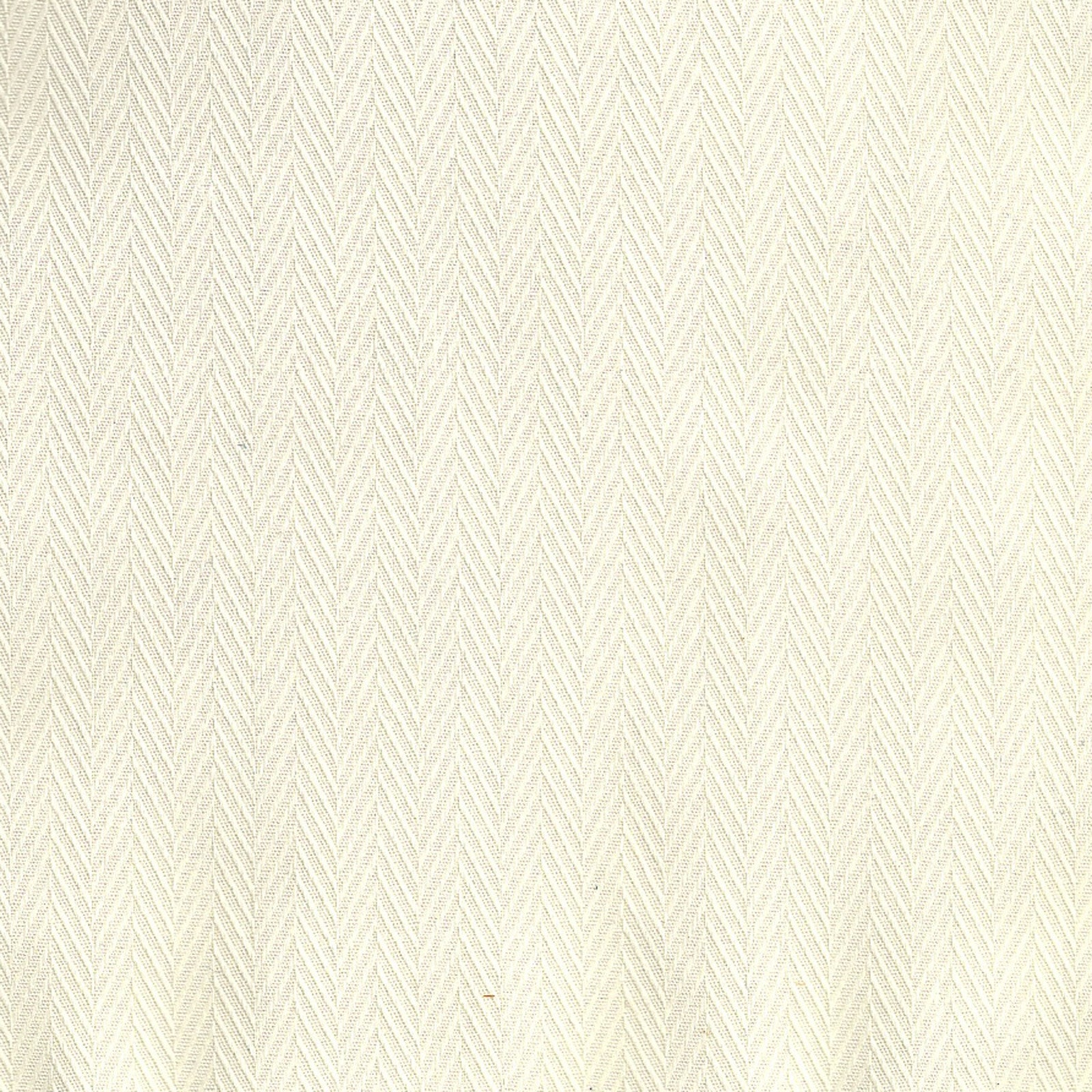 Solid Cotton - Oyster Herringbone Fabric